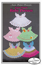 Crochet Super Simple Baby Dresses crochet baby clothes by Annie Potter