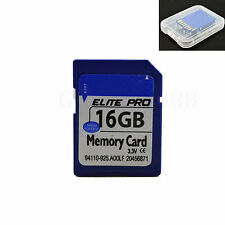 16G 16GB High Speed SD SDHC Card Standard Secure Digital Memory Card For Camera