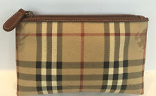 Burberry Haymarket Accessory Pouch