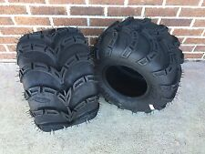 TWO ITP Mud Lite SP ATV Tire Kit- PAIR  (2) 20-11-9  20x11x9 6 Ply Sport ATV Set
