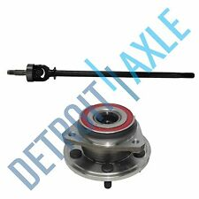NEW Front Right CV Drive Axle shaft U-Joint and Wheel Hub Bearing Assembly - 4WD