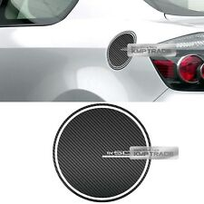 Fuel Oil Tank Door Cap Carbon Decal Sticker Cover for TOYOTA 2005-2010 Scion TC