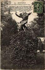 CPA Montargis - Statue du Chien de Montargis au Jardin Durzy (162344)