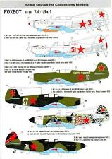 Foxbot Decals 1/48 YAKOVLEV Yak-1 Russian WWII Fighter