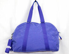 "NWT KIPLING SL4728 Wild Blue Nylon 18"" Travel Duffel Bag Shoulder Strap"