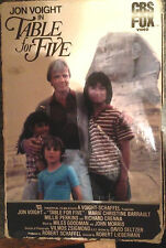 Table for Five (VHS) 1982 rare tearjerker stars Jon Voight; original packaging