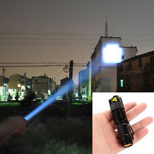 Posh Hard Light Lantern Torch LED Flashlight Lamp Ultrafire Zoomable Penlight