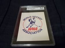 1972-73 OPC O-Pee-Chee WHA Logo World Hockey Association UNPUNCHED -KSA 8.5 NMM+