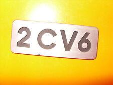"""2cv..CITROEN """"2 CV 6""""..EMBLEM..original sehr alt & für Sammler RAR  !"""