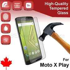 Motorola Moto X Play Premium Clear Tempered Glass Screen Protector from Canada