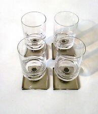 "2x Rosenthal Glas ""Berlin"" H 9 cm 50s Jensen set of sherry glass verre à liqueur"
