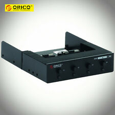 """ORICO 3.5"""" 4Bay SATA HDD Hard Disk Drive On/Off Switch Control Power Controller"""