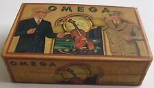 ADVERTISING CARDBOARD BOX CASE for WATCH-OMEGA