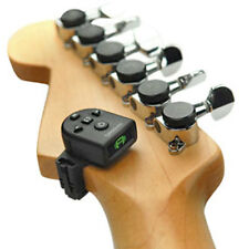Planet Waves Micro (mini) Headstock Clip-On Tuner for Guitar & Bass - Tiny! New!