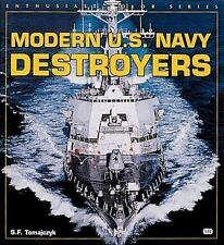 Modern U. S. Navy Destroyers (Enthusiast Color)-ExLibrary