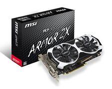 MSI RADEON R7 370 ARMOR 2X | 2GB OVERCLOCK Gaming Graphics R7 370 2GD5T OC [F45]