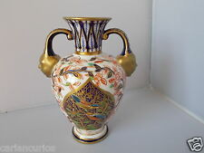 ROYAL CROWN DERBY 1883 TWO HANDLED VASE