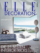 ELLE DECORATION July / August 2012 German Language Edition (Elle Decor)