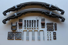 5 LEAF OFF ROAD TRAILER SPRING KIT 1100kg -PERFECT FOR OFFROAD TRAILERS