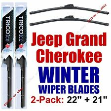 2011-2016 Jeep Grand Cherokee WINTER Wipers 2-Pk Winter Beam Blades 35220/35210