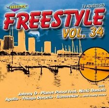 Freestyle 34 (2008) Johnny O, Apollo, Bubble J, Miss Kay, Sunseeker.. [CD]