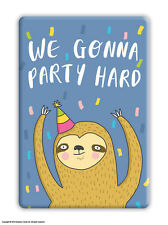 Fridge Magnet Funny Humour Novelty Joke Cheap Present Birthday Gift Sloth
