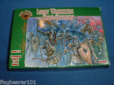 DARK ALLIANCE - LIGHT WARRIORS OF THE DEAD CAVALRY. 1/72 SCALE PLASTIC FIGURES
