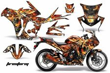 AMR Racing Graphic Kit Wrap Part Honda CBR250R Street Bike CBR 250R 10-13 FIREST