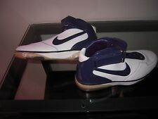 Nike Air Force 25 White Midnight Navy Chrome 2007 NIB Deadstock Size 17.5 Blue