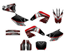 2000 2001 CR 125 250 Graphics CR125R CR250R sticker kit #7777 Red