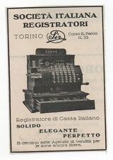 Pubblicità vintage REGISTRATORE CASSA SIR old advert reklame werbung publicitè