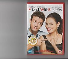 FRIENDS WITH BENEFITS DVD JUSTIN TIMBERLAKE MILA KUNIS