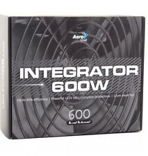 ,5€1 AeroCool Integrator 600W 85+ PC Gaming Power Supply 120mm