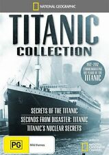 National Geographic: Titanic 100 Year Anniversary Boxset DVD NEW