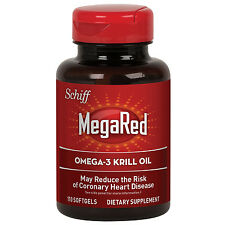 MegaRed 350 mg Omega-3 Krill Oil Dietary Supplement 130 ct softgels   mega red