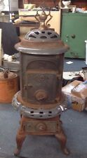 Vintage Pot Belly No 25 Cast Iron Wood Stove