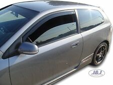 DHO17115  W@@W Honda Civic SPORT  EP2 mk7 wind deflectors 2pc set TINTED HEKO