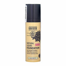 Lavera Natural Liquid Foundation 30ml Makeup Coverage Color Ivory Light 01#17206