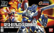 Gundam 1/144 HGFC #110 GF-017NJII G Gundam God Burning Model Kit USA SELLER