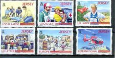 Jersey Red Cross-Princess Diana - Helicopter-vehiclesmnh new issue