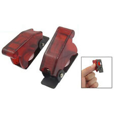 5 Pcs 12mm Mount Dia. Red Safety Flip Cover for Toggle Switch SP