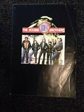 THE DOOBIE BROTHERS - Rare 1977 tour programme (Livin' on the fault line tour)