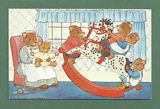 MEDICI MARGARET TEMPEST POST CARD Pk 107 C1970's THE ROCKING HORSE SWEET BEARS!