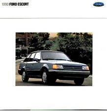 1990 Ford Escort 16-page Original Dealer Sales Brochure Catalog