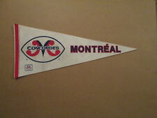 CFL Montreal Concordes Vintage Defunct Style#2 Pennant