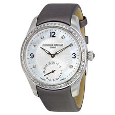 Frederique Constant Maxitime Mother of Pearl Dial Diamond Ladies Watch