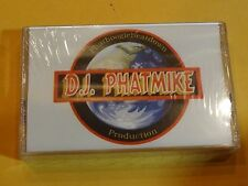 D.J. Phatmike House Club Underground It's Just Good Beats SEALED private RARE