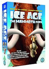 Ice Age 1-4 plus Mammoth Christmas: The Mammoth Collection (DVD) Box Set New 23