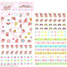 My Melody stickers for decoration deco schedule planner agenda Japan new
