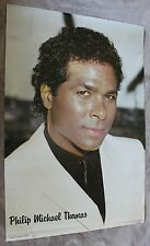 Philip Michael Thomas 1986 Miami Vice Minerva White Suit TV Poster #68088 VG C6